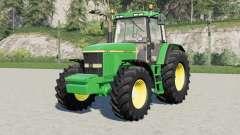 A John Deere 7010-serieʂ para Farming Simulator 2017