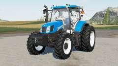 New Holland T6.110 & T6.130 para Farming Simulator 2017