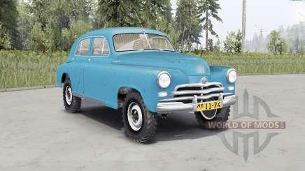 GAZ M-72 DE 1955 para Spin Tires