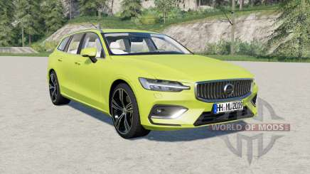 Volvo V60 T6 Inscription 2018 para Farming Simulator 2017