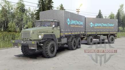 Ural-43Զ0-10 para Spin Tires