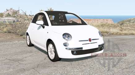 Fiat 500 (312) 2007 para BeamNG Drive