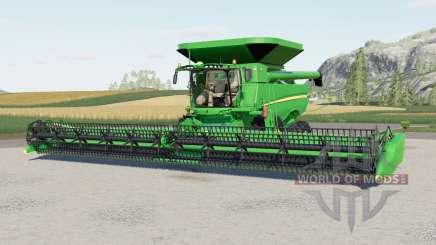 A John Deere S700-serieᵴ para Farming Simulator 2017