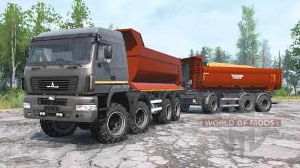 MAZ-6516В9 para MudRunner