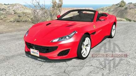 Ferrari Portofino 2018 para BeamNG Drive