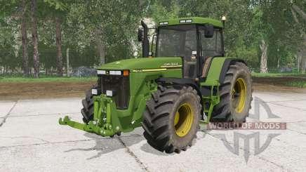 A John Deere 8Ꝝ10 para Farming Simulator 2015