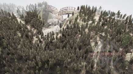 Cobra estrada 10 para MudRunner