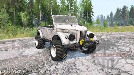 GAZ-69UM para MudRunner