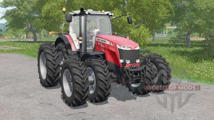 Massey Ferguson 8700-serieᵴ para Farming Simulator 2017