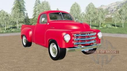 Studebaker 2R5 pickup 1950 para Farming Simulator 2017
