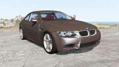 BMW M3 coupe (E92) 2007 para BeamNG Drive