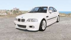 BMW M3 coupe (E46) 2001 para BeamNG Drive