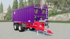 Fliegl ASW 256 Gigant & Kroger Agroliner TAW 20 para Farming Simulator 2017