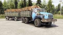 Ural-4320-10 ⱱ2.0 para Spin Tires