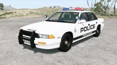 Gavril Grand Marshall Firwood Police v1.2 para BeamNG Drive