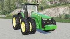 John Deere 8R-serɨes para Farming Simulator 2017