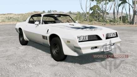 Pontiac Firebird Trans Aᵯ 1977 para BeamNG Drive