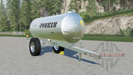 Joskin AquaTrans 7300 S milk & water para Farming Simulator 2017