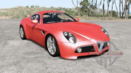Alfa Romeo 8C Competizione para BeamNG Drive