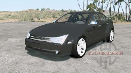 Ford Focus sedan (NA2) 2008 v1.11 para BeamNG Drive