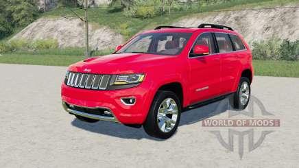 Jeep Grand Cherokee Limited (WK2) 2014 para Farming Simulator 2017