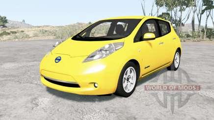 Nissan Leaf 2014 v1.1 para BeamNG Drive