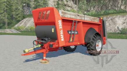 Sodimac Rafal 3ろ00 para Farming Simulator 2017