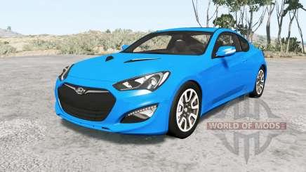 Hyundai Genesis coupe 2013 v1.1 para BeamNG Drive