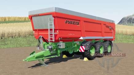 Joskin Trans-Space 8000-27TRC150 para Farming Simulator 2017