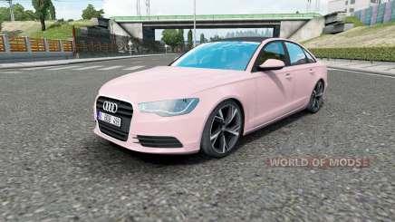 Audi A6 sedan (C7) 2011 para Euro Truck Simulator 2