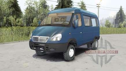Gaz-27527 Sobol 4x4 para Spin Tires