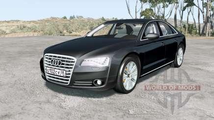 Audi A8 L quattro (D4) 2010 para BeamNG Drive