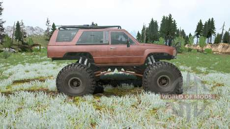Toyota 4Runner (LN61) lifted para Spintires MudRunner