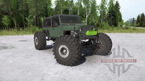 Jeep Wrangler crawler para Spintires MudRunner