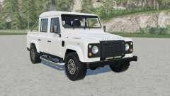 Land Rover Defender 110 Double Cab Pickup para Farming Simulator 2017
