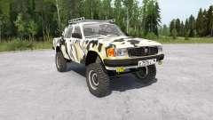 Gaz-31029 Volga 4x4 para MudRunner