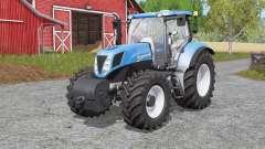 New Holland T7-seriҽs para Farming Simulator 2017