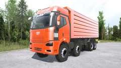 FAW Jiefang J6P 8x8 Dump Truck para MudRunner
