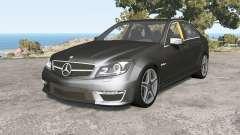 Mercedes-Benz C 63 AMG (W204) Ձ011 para BeamNG Drive