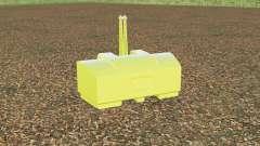 AGCO weight 2800 kg. para Farming Simulator 2017