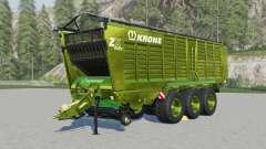 Krone ZX 560 ƓD para Farming Simulator 2017