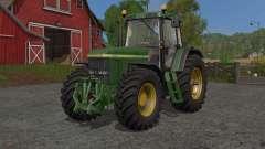 John Deere 7010-serieꜱ para Farming Simulator 2017