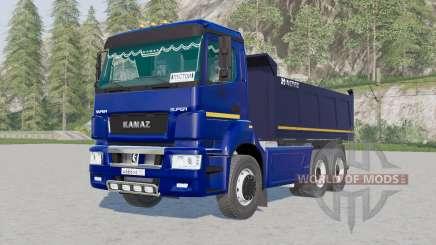 Kamaz-6520 para Farming Simulator 2017