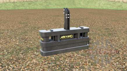 Meyer KB 80〡105〡120 para Farming Simulator 2017