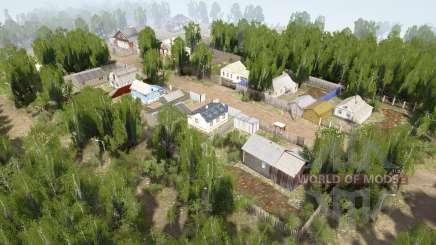 Ural 10: Vila v1.1 para MudRunner