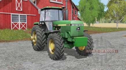 John Deere 4055-series para Farming Simulator 2017
