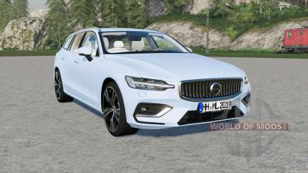 Volvo V60 T6 Inscription 2018 v1.2.2 para Farming Simulator 2017