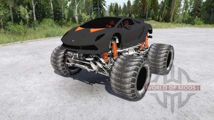 Lamborghini Sesto Elemento Monster Truck para MudRunner