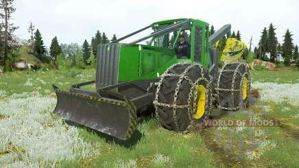 John Deere 748H v1.1 para MudRunner