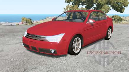Ford Focus sedan (NA2) 2008 v1.3 para BeamNG Drive